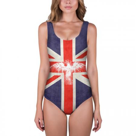 Флаг Англии с белым орлом»