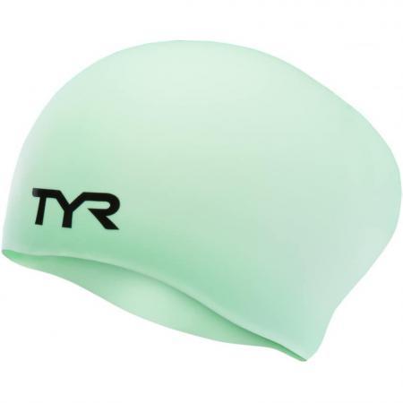 Шапочка TYR Long Hair Wrinkle-Free Silicone Cap